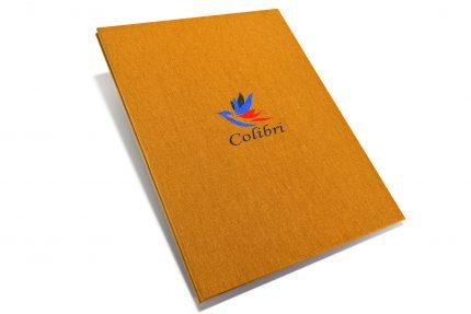 A3 Prt Hh Golden Tan Colibri Spot Print