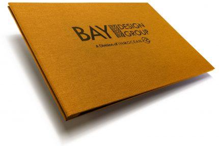 A4 Lnd Hh Golden Tan Bay Design Group Black Deboss