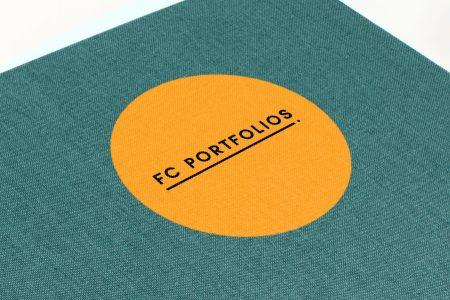 Spot Digital Print on Aqua Cloth