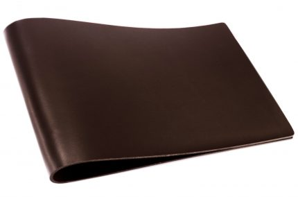 Chocolate Leather Binder