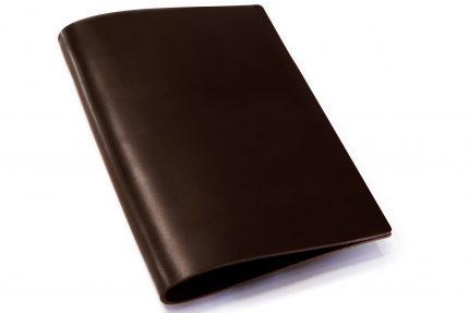 Chocolate Leather Binder