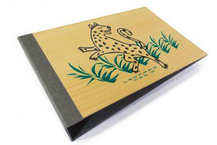 Spot Digital Print on Timber Binder