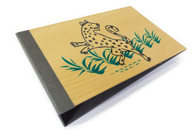 Spot Digital Print on Timber Binder