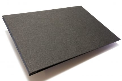 Dark Grey Cloth Portfolio