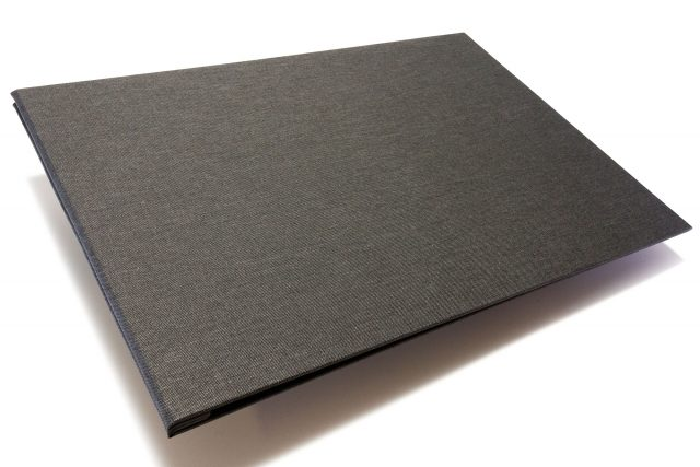 Dark Grey Cloth Portfolio