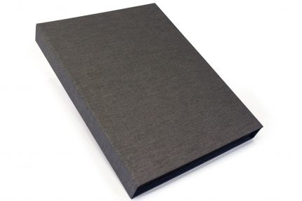 Dark Grey Cloth Presentation Box