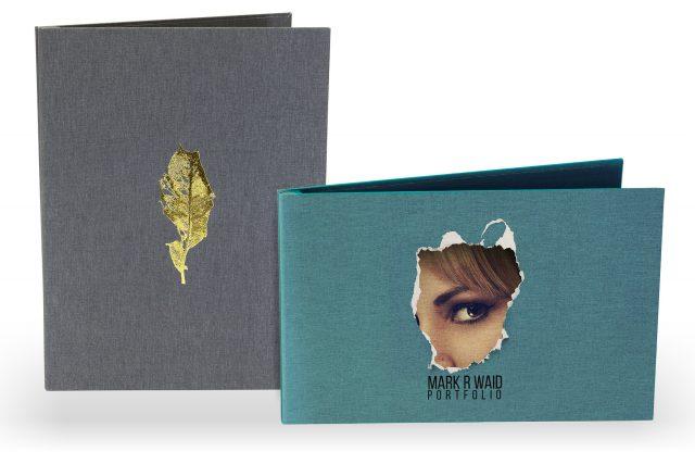 Cloth Screwpost Portfolio available in Portrait and Landscape Orientation