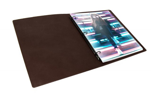 Leather Binder - Inner View
