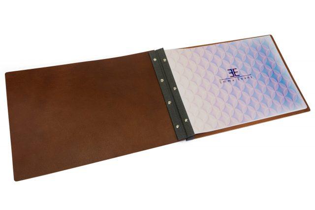 Leather Portfolio - Inner View