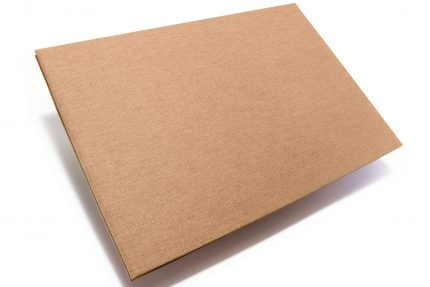 Light Brown Cloth Portfolio
