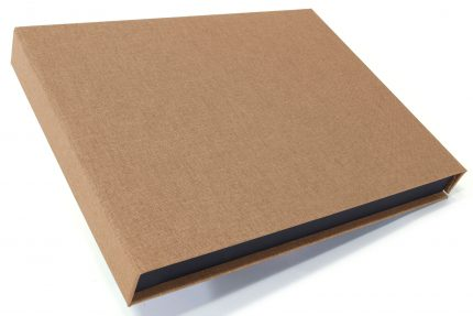 Light Brown Cloth Presentation Box