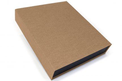 Light Brown Cloth Presentation Box