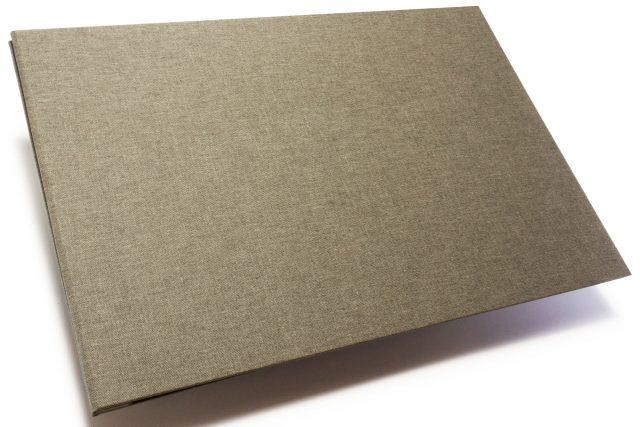 Light Grey Cloth Portfolio