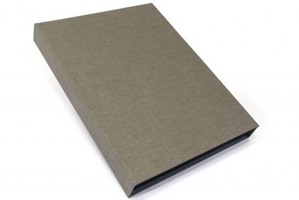 Light Grey Cloth Presentation Box