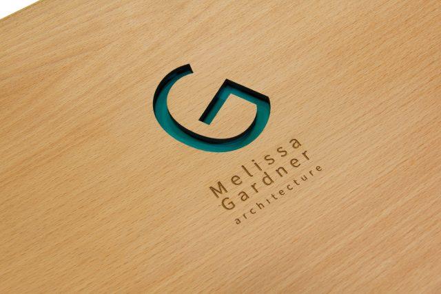 Melissa Gardner Architecture Logo Close Up