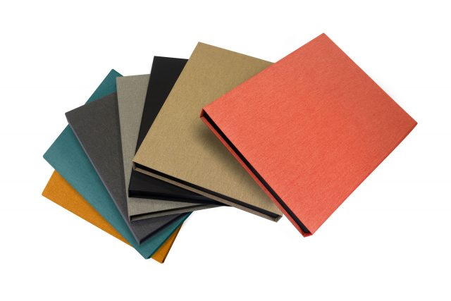 Cloth Presentation Boxes in different colours