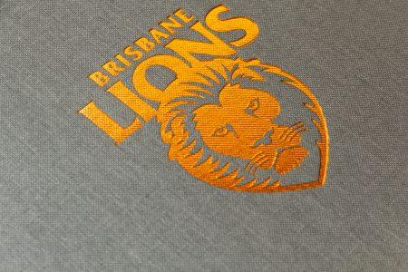Pb Quattro A4 Lnd 30 Lg Brisbane Lions Bronze Foil Logo 2