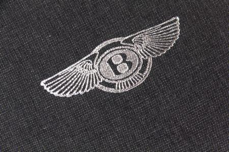 Pb Quattro A5 Lnd 30 Dg Bentley Silver Foil Logo