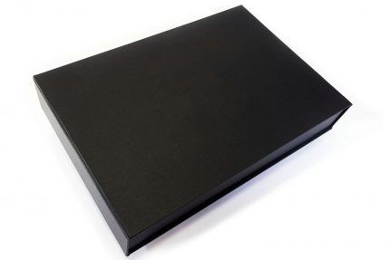 Black Cloth Presentation Box