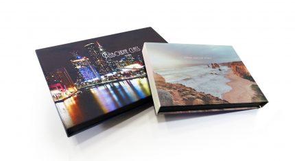 3 Sided Print Wrap Presentation Boxes