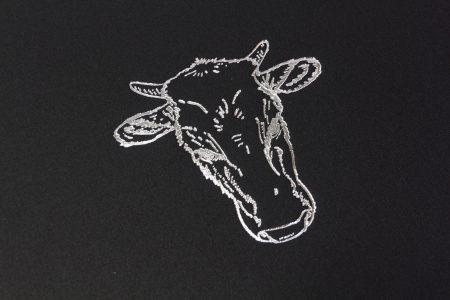 Pb Tre A3 Prt 30 Blk Rising Sun Hotel Silver Foil Logo 1