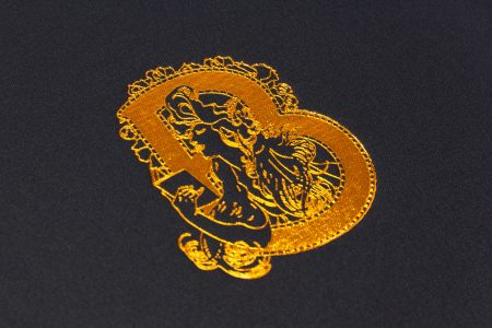 Pb Tre A4 Lnd 55 Blk Bibliotheca Bronze Foil Cloth Logo 2