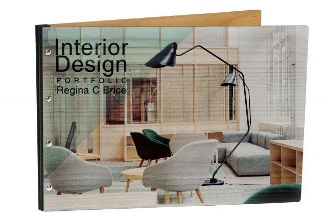Spot Digital Print on Timber Portfolio